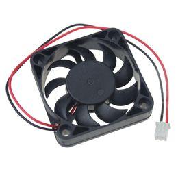 Brushless Cooling Fans UK - cooling fan 2pcs Gdstime DC 12V 50 10mm 5cm Brushless Cooling Fan 50x50x10mm 5010 Small Radiator 9 Blades XH2.5 2Pin