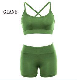 $enCountryForm.capitalKeyWord Canada - Women Yoga Set Gym Fitness Clothes Tennis Crop Top Pants Running Tight Jogging Workout Yoga Leggings Sport Suit plus size