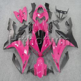 Yamaha R1 Pink Australia - 23colors+8Gifts ABS pink Fairing bodywork plastic kit for Yamaha YZF-R1 04 05 06 YZFR1 2004 2005 2006