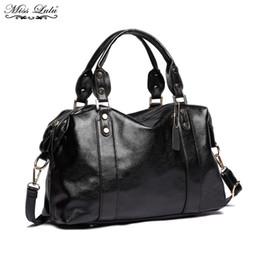 $enCountryForm.capitalKeyWord NZ - Miss Lulu Women Designer Handbag PU Leather Hobo Female Shoulder Bags Girls Cross Body Messenger Satchel Ladies Tote Bag E1828