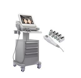 Tıbbi Sınıf Gerçek HIFU Yüksek Yoğunluklu Odaklanmış Ultrason Hifu Yüz Germe Makinesi Anti-Aging Yüz Kartuşu Veya 5 Kartuşla Yüz Vücut İçin