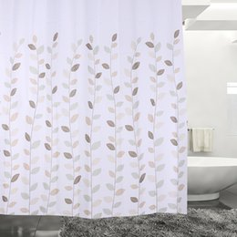 Wholesale 180*180cm Flower Print Bathroom Waterproof Polyester Shower  Curtain Bath Curtain Waterproof Mouldproof Fabric Bathroom Accessory Cheap  Bathroom ...