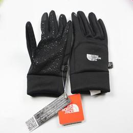 TF NMen femmes automne hiver avec chiffon avec doux sieste de vent eau glissante monter escalade escalade tactile écran de veille gants chauds