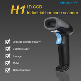 Discount high speed portable scanner - 5pcs Portable High Speed 300 scans second Scan Rate Handheld CCD Barcode Scanner Reader USB Wired 1D Bar Code for System