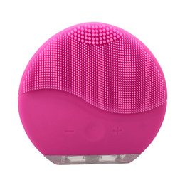 $enCountryForm.capitalKeyWord UK - Skin care!Mini electric facial cleaning massage brush sonic face washing machine waterproof silicone face cleanser dirt remove