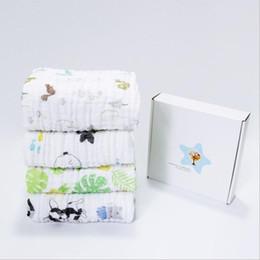 $enCountryForm.capitalKeyWord NZ - pure cotton children bath robes soft infant blanket wrap six layers baby muslin blanket free shipping