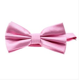 China 6 Colors Solid Fashion Bowties Groom Men Colourful Plaid Cravat gravata Male Marriage Butterfly Wedding Bow ties supplier plaid bowties suppliers