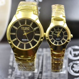 $enCountryForm.capitalKeyWord Australia - Jhlf Gold Fashion Casual Trend Men's Steel Band Watches, Student Watches Digital Foreign Trade Quartz Gifts Table 2