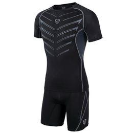 Wear Compression Shorts Australia - Nice Men Compression Base Layer Tights Skin Sport Wear Fitness Running Shorts