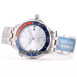 $enCountryForm.capitalKeyWord UK - New Model Hour Vision 007 White Dial Japan Miyota 8215 Automatic Mens Watch Silver Case Blue Bezel Stainless Steel Band Gents Watches