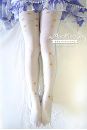$enCountryForm.capitalKeyWord NZ - New high quality Personality stamping 120D Velvet stockings Summer slim Cosplay Lolita tight for Gift