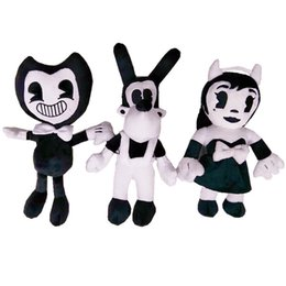 $enCountryForm.capitalKeyWord Canada - Classic Game Series Plush Doll Bendy And The Ink Machine Cartoon Stuffed Toy For Kid Children Birthday Gift 13 2nw YY