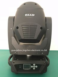 Wholesale Newest R w Beam Moving Head Light CH colors static Gobos facet Prism Variable Electronic Strobe