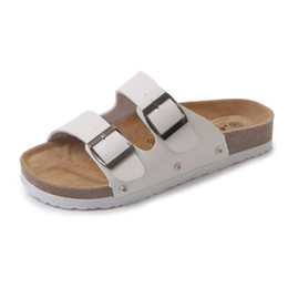 Cork beaCh online shopping - Women Lovers Casual Beach Slippers Summer Soft Cork Slides Sandals Shoes Non Slip Wear Resisting Jolly Flip Flops al ff