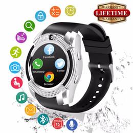 Discount samsung smart watch for women - 2018 Best Bluetooth Android Smart Watch Touch Screen Fashion Cell Phone Smartwat for Samsung Huawei Kids Men Women Smat