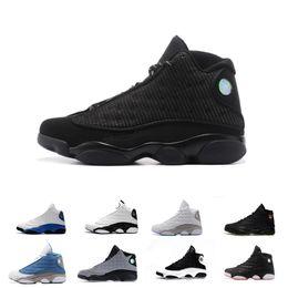 337b43788528 High Quality 13s Bred Chicago Flints Men Women Basketball Shoes 13s DMP  Grey Toe History Of Flight Hyper Royal Sneakers