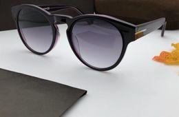 blue mirrored designer sunglasses 2019 - 615 Sunglasses Luxury Fashion Women Designer Popular Retro Style UV Protection Lens Round Frame Top Quality Free Come Wi
