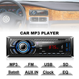 $enCountryForm.capitalKeyWord NZ - Bluetooth Car Stereo Radio MP3 Player Vehicle Audio Support FM USB SD AUX In with Remote Control In-Dash 1 DIN CAU_01T
