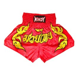 muay thai clothing NZ - Suotf Sports Boxing Fighting Fitness Training Men 'S Shorts Tiger Muay Thai Shorts Mma Pants Muay Thai Clothing Mma Fight Shorts