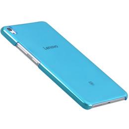 "Crystal Hard Shell Case UK - Fashion Ultra Slim PC Transparent Hard Case Shell Crystal Back Cover For Lenovo PHAB 6.98 PB1-750 PB1-750N PB1-750M 6.98"" Tablet"