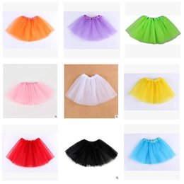$enCountryForm.capitalKeyWord NZ - Tiered Girls Tutu Skirt Baby Girl Dress Tulle Pleated Clothes for girls Babies Dress Clothes Best Gifts Kids Clothing DHL Free shipping