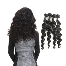 Product Bundle Pricing Australia - Laflare Hair Products Indian Unprocessed Virgin Human Hair Loose Wave 4 Bundles Factory Directly Supply With Cheap Price