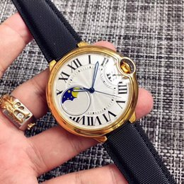 Blue Balloon Automatic Mechanical Big Gold 47mm Case Aaa Orologio Sport Fashion Men Watchnd New Stainless Steel Mens Watches