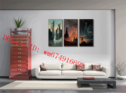 Discount lord rings figures - The Lord of the Rings , 3 Pieces Home Decor HD Printed Modern Art Painting on Canvas (Unframed Framed)