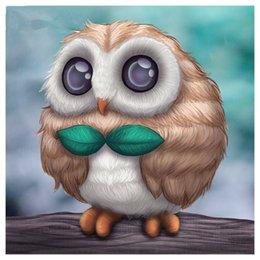 discount cute owl paintings cute owl paintings 2019 on sale at