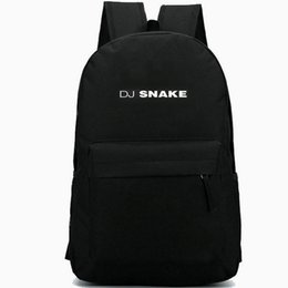 tops school girls UK - DJ Snake backpack Top popular daypack Cool music schoolbag Leisure rucksack Sport school bag Outdoor day pack