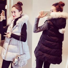 Plus Sized Clothing NZ - Women Vest Waistcoats Vest Fur Hooded Women Cardigans Jacket Winter Warm Clothes Parkas Plus Size 5XL Outwear Female z20