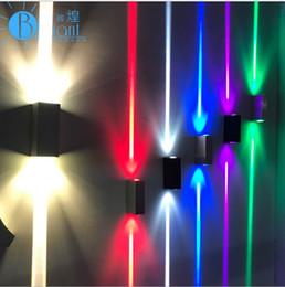 Light ups spotLights online shopping - Narrow Lights Outdoor Waterproof Wall lamp Porch Garden Lights Up and Down CREE W Spotlights Decorative Lighting Sconce Modern Wall Lamps
