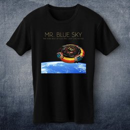 blue cotton men Australia - Mr. Blue Sky: The Very Best of Electric Light Orchestra T-Shirt Tee Fashion Style Men 100% Cotton Classic tee