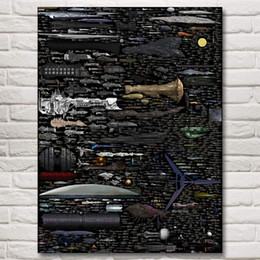 $enCountryForm.capitalKeyWord NZ - 1 Pcs Star Trek Spaceship Blueprints Spaceship Space Nebula Movie Art Silk Print Poster Home Decor Pictures