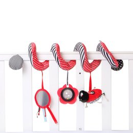 factory beds direct 2018 - Soothing Baby Toy Beetle Ladybug Bed Round Bed Bell Baby Car Hanging Factory Wholesale Direct Selling Classic Cute Carto