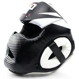 $enCountryForm.capitalKeyWord Australia - Adjustable Closed Type Boxing Helmet Head Protector for Taekwondo Karate Tai Kickboxing Competition Training Boxing Helmet