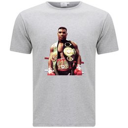 087f6c63f9d211 New Iron Mike Tyson Boxing Champion Icon Men s Grey T-Shirt Size S-3XL  cattt windbreaker Pug tshirt