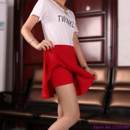 5775fc9141 8 Fotos Falda de tenis online-Nuevas mujeres de la llegada Shorts  MiniSkirts Summer High Waist Multicolor