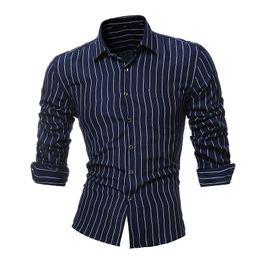 acbe4c681 Discount beige stripe mens dress shirts - WX6-8Male Shirt Black And White Stripes  Long