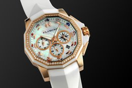 Mothers Pin Canada - Hot Fashion Relogio Feminino Ladies Stainless Steel Women Wrist Watch Mother of Pearl Dial Watch For Ladies Luxury Quartz Watches Women
