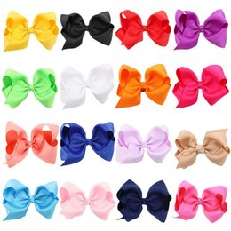 princess ponytail 2019 - Lovely Baby Bow Grosgrain Ribbon Hair Clip Gift Little Princess Hair Girl Rope Ponytail Headwear Girl Shining accessorie