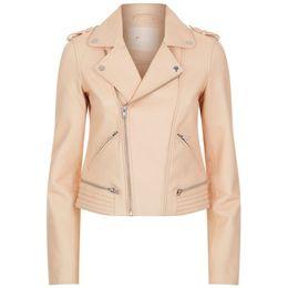 $enCountryForm.capitalKeyWord UK - New suede suit collar leather trim short scapular leather jacket for women suit jacket -680