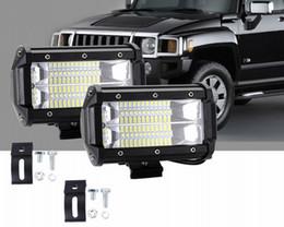 Wholesale Super Bright 72W LED Work Lights 4wd Trucks ATV SUV Off Road Universal Led Light For Car