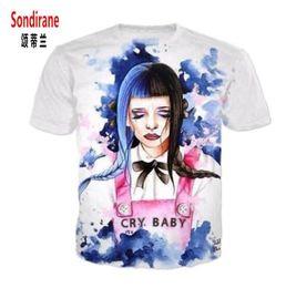 e68e621fa New Fashion Womens Mens Melanie Martinez Funny T Shirts 3D Print Cartoon  Funny Casual T-Shirt Summer Short Sleeve Tops