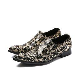 $enCountryForm.capitalKeyWord Australia - Fashion Italian Style Leather Shoes Men Pointed Toe Leather Dress Shoes Men Wedding-Business Luxury Shoes for Men