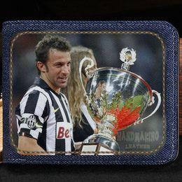 $enCountryForm.capitalKeyWord NZ - Alessandro del Piero wallet Best purse Football star short cash note case Money notecase Leather burse bag Card holders