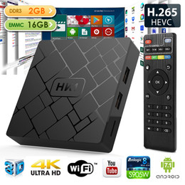 new arrival android tv box 2018 - New Arrival HK Android 7.1 TV Box 2GB Ram 16GB Rom Amlogic S905W Quad Core Smart Media Player Support 2.4G Wifi Better X