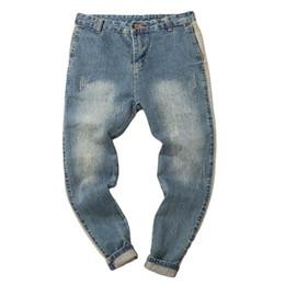 0a3b0bee32 WOMAIL 2018 Men Jeans Pants Autumn Denim Cotton Vintage Hip Hop Trousers  Men Big Sizes Work Jeans Pants Drop Ship 18Aug13