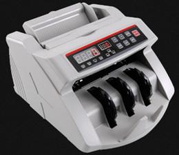 Compteur de billets, 110V / 220V, Compteur d'argent, Convient pour EURO US DOLLAR, etc. Machine de comptage de billets compatible avec plusieurs devises LLFA en Solde