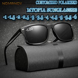 16ef7a5bdd9 Custom Made Myopia Minus Prescription Polarized Lens Black Leopard FRAME  Classic Simple Frame Polarized Sunglasses -1 TO -6